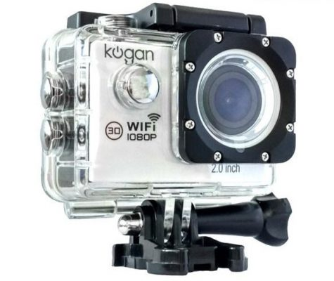 Kogan Action Camera 1080p WiFi